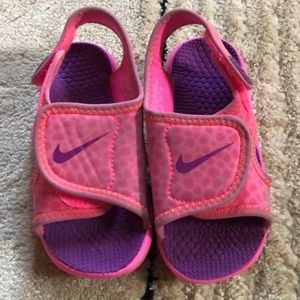 Girl Toddler Water Shoes Pink Size 8